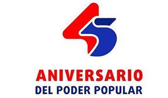 Aniversario 45 del Poder Popular