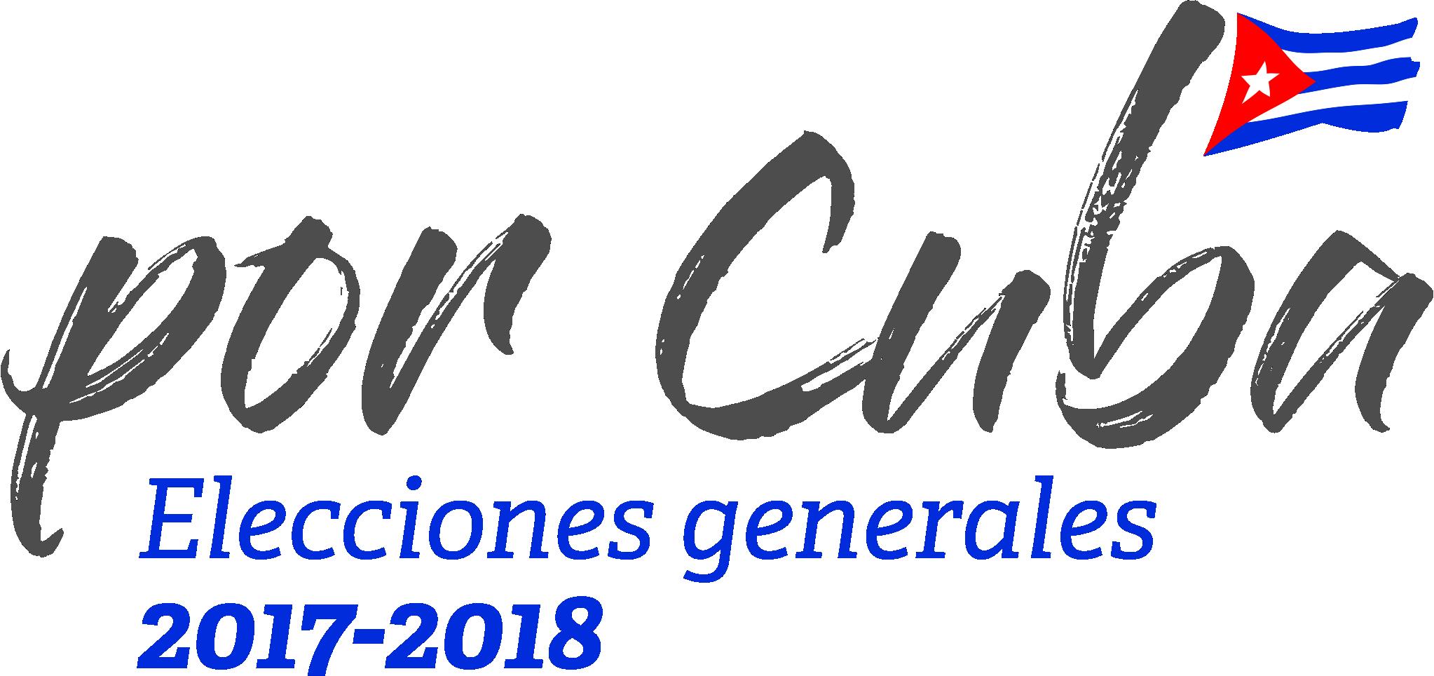 Elecciones Generales en Cuba 2017-2018