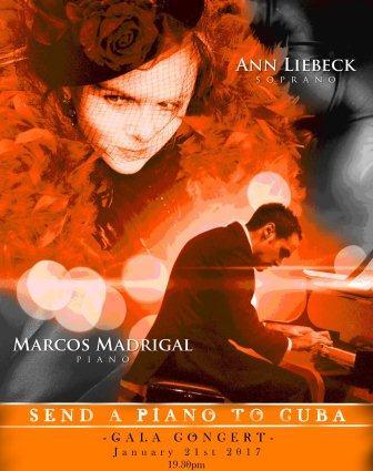 Concierto londinense de Marcos Madrigal reverenciará al piano cubano