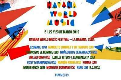 Havana World Music underway at La Tropical's Benny Moré Hall