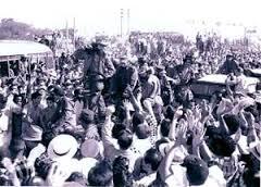 Fidel Castro y la Caravana de la Libertad