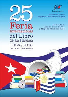 Alrededor de 300 personalidades extranjeras en la Feria del Libro de La Habana