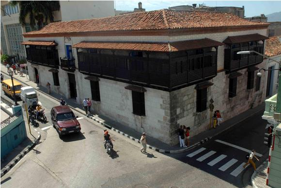 The first house in Cuba