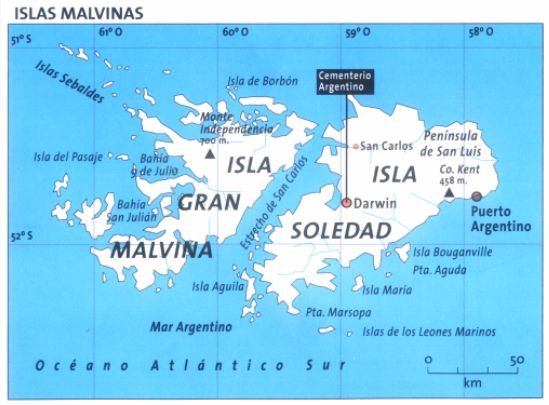 The Malvinas (Falkland Islands)