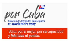 Cubanos irán a las urnas este domingo en pleno ejercicio de democracia