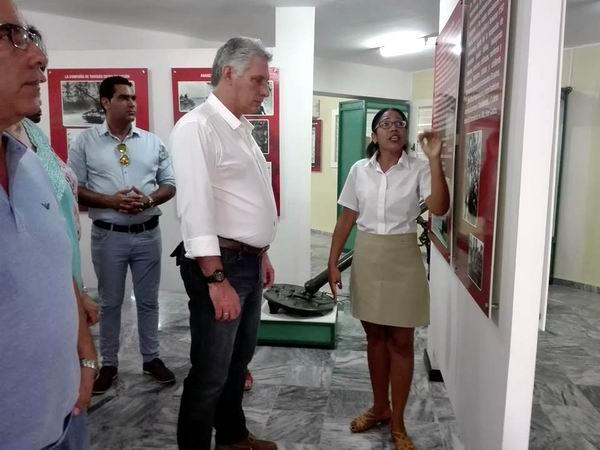 Inició Díaz-Canel visita de gobierno a provincia de Matanzas
