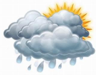 Pronostican este lunes algunas lluvias en la región oriental