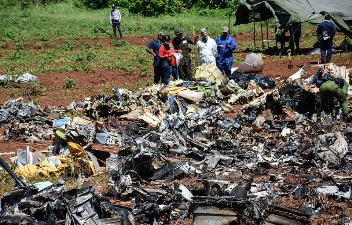 Prosigue investigación sobre causas del accidente aéreo en Cuba