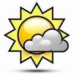 Calor y aisladas lluvias en el occidente este viernes