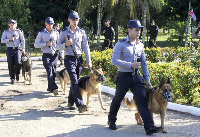 Rememoran en Camagüey fundación del Ministerio del Interior