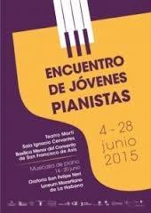 Inauguran hoy III Encuentro de Jóvenes Pianistas