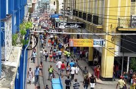Walking down Calle Enramadas