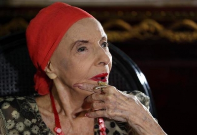Alicia Alonso Receives Acknowledgement from U.S. Physicians