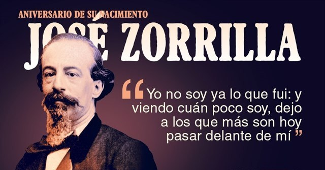 José Zorrilla, 200 years of the poet of Valladolid