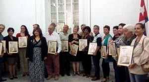 Radio Enciclopedia, CMBF, Reloj, Progreso y Radio Habana Cuba reciben distinción martiana