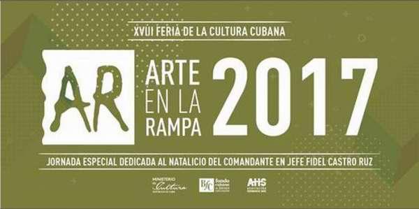 Arte en La Rampa dedica jornada especial a Fidel