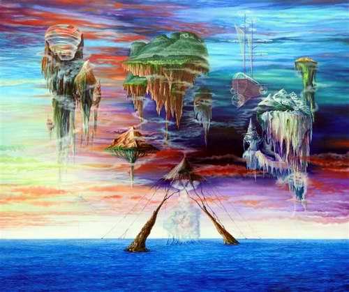 """Nueva exposición """"Yo te pinto, canción"""", de Jorge Luis Martínez Camilleri."""