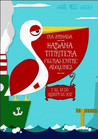 Muy pronto 1ra Jornada Habana titiritera: figuras entre adoquines