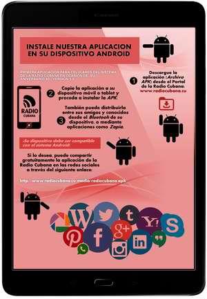 La Radio Cubana estrena aplicación para celulares y dispositivos móviles