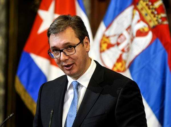 Presidente serbio cumple intensa jornada de actividades en Cuba