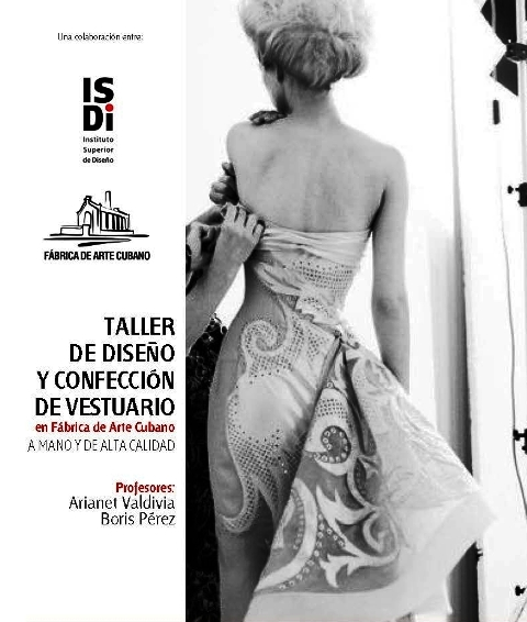 Convocan a Taller de diseño y confección de vestuario