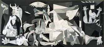 A route to unveil the mysteries of Pablo Picasso's Guernica