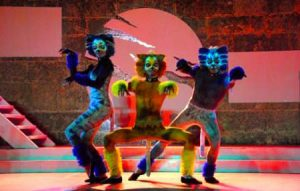 "The musical ""Cats"" returns with great success to the Anfiteatro of Havana"