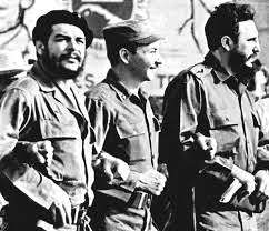 Fidel, Raúl y el Che