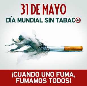 May 31, World No Tobacco Day