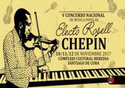 Concurso Nacional de Música Popular Electo Rosell en Santiago de Cuba