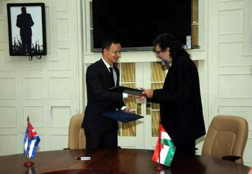 Cuba y Hungría suscriben acuerdo de cooperación cultural