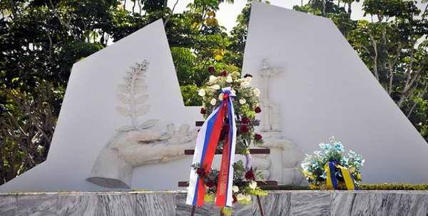 Conmemoran en Cuba centenario de la Revolución Socialista de Octubre