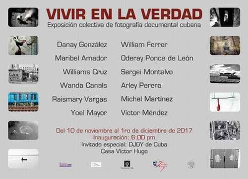Abrirá en La Habana muestra fotográfica Vivir en la Verdad