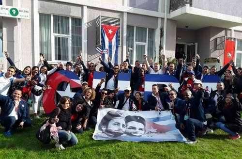 Delegación cubana al Festival Mundial de la Juventud ya está en Sochi