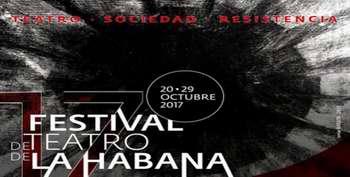 Muy pronto 17 Festival de Teatro de La Habana