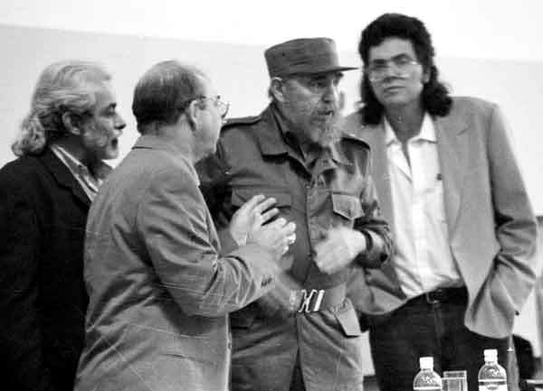 Fidel Castro: The first thing to save is culture